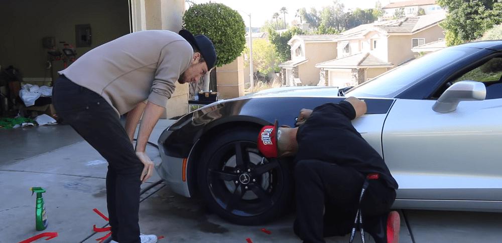 corvetteforum.com C7 Corvette Coupe Gets Carbon-Fiber Widebody Panels
