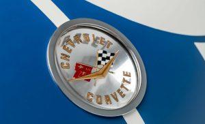 1960 LeMans Corvette Badge