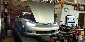 C6 Corvette Z06 Dyno Front