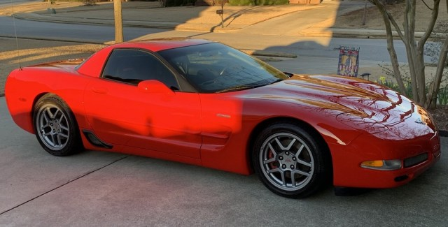 Torch Red C5 Corvette Z06 for Sale