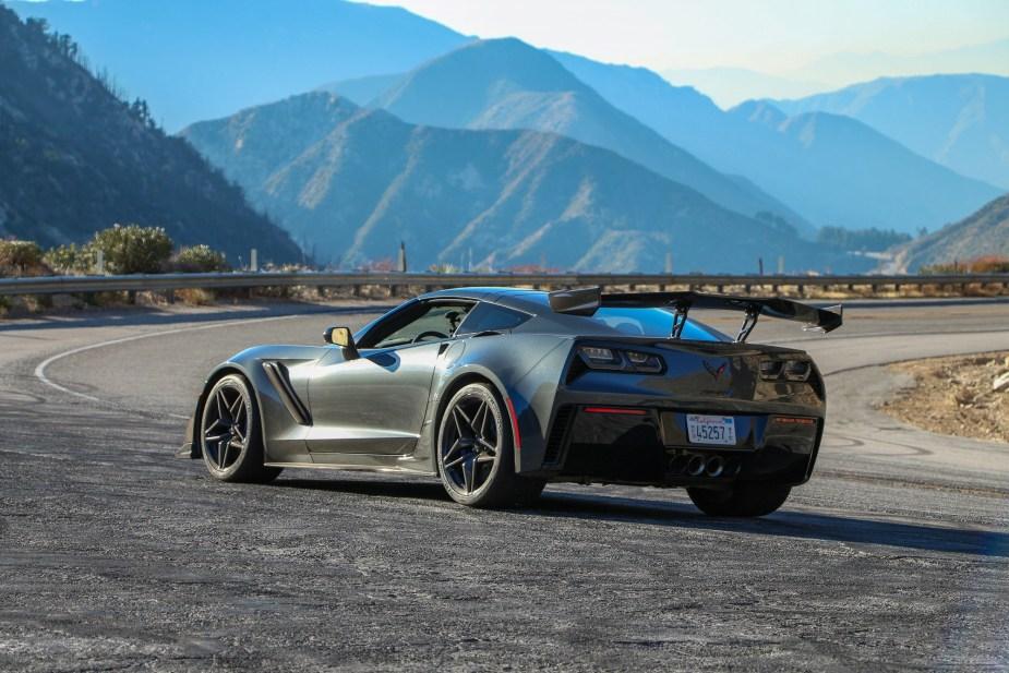2019 Corvette ZR1 Drive Review Interior Exterior Options Colors Transmission Engine Brakes Tires Handling Pictures Wallpaper