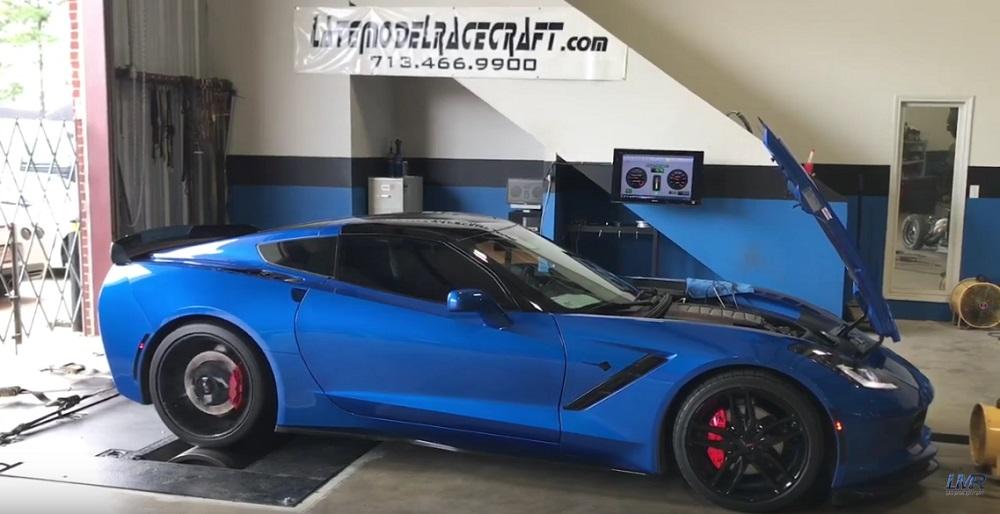Late Model Racecraft Supercharged C7 Corvette