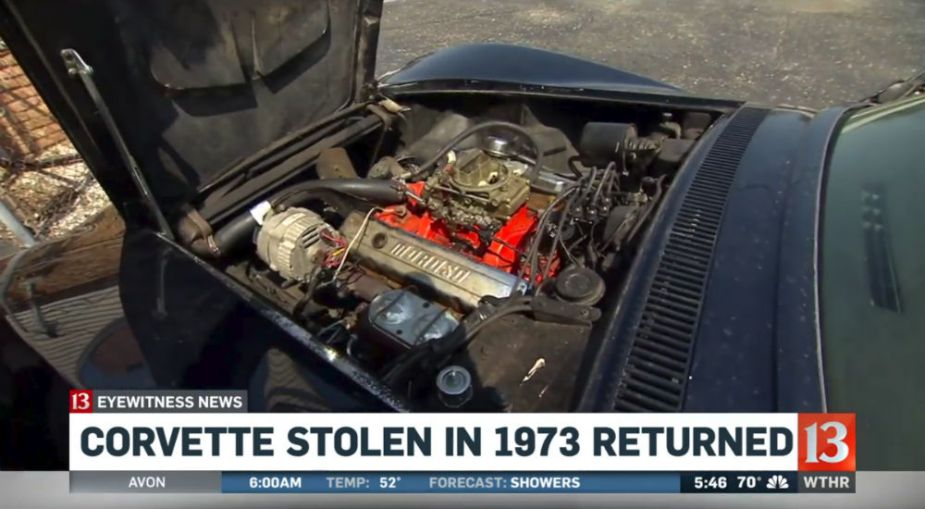 Recovered 1969 Corvette Stingray