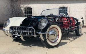 1953 production Corvette chassis