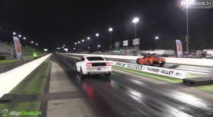 Corvette ZR1 vs Mustang GT