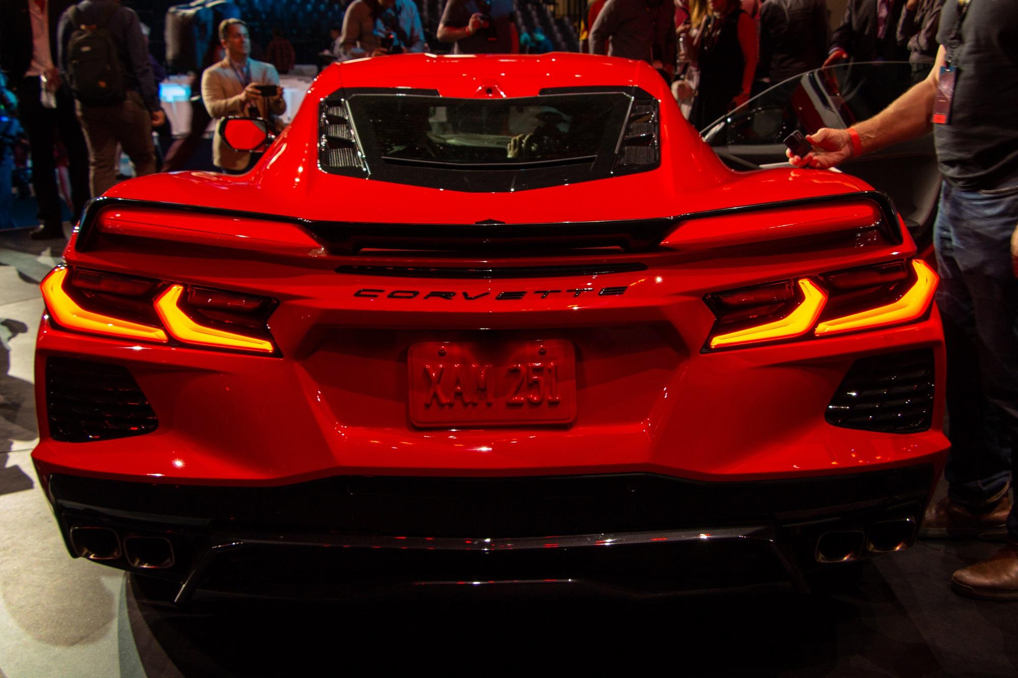 2020 C8 Corvette Exterior Colors Lights Stingray ...