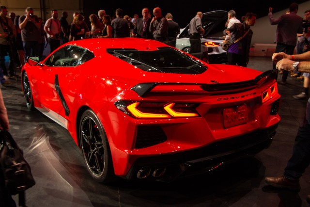 2020 C8 Corvette Exterior Colors Lights Stingray