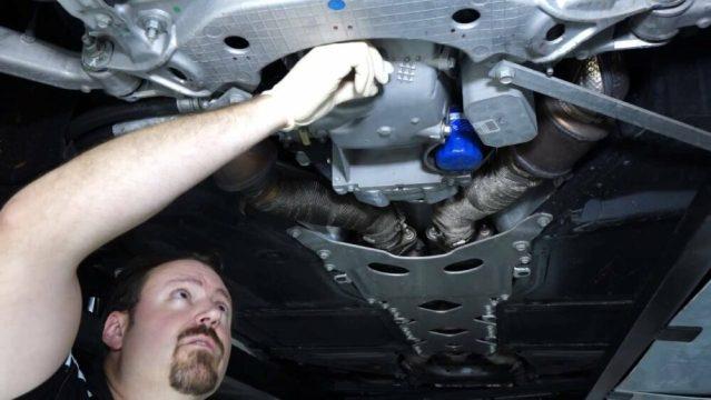 Corvette Oil Change