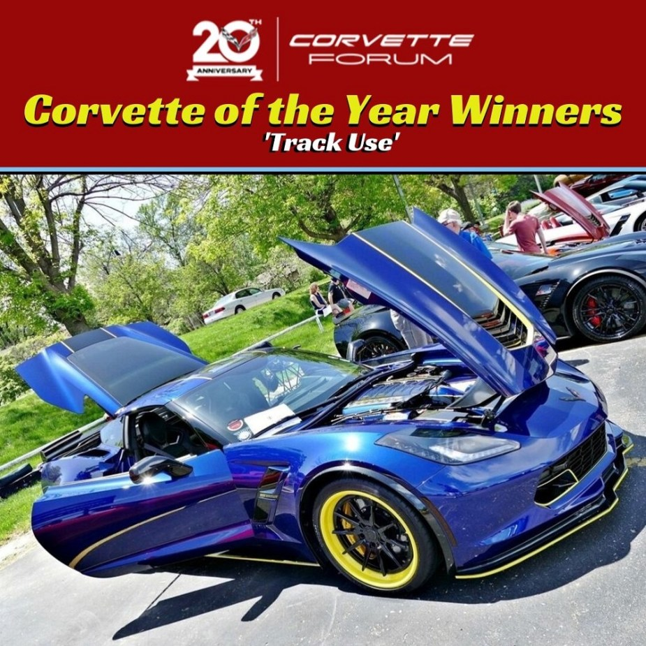 """1963 Grand Sport Is 2020 C2 Corvette Of The Year """"Track"""