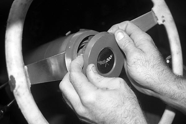 1980 Chevy Heater Wiring 1977 1982 Corvette Steering Wheel Amp Horn Button
