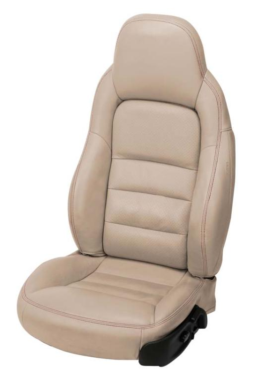 C6 Corvette 20052011 AccentStitched Leather Seat Covers
