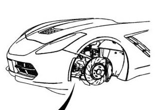 Page from 2014 C7 Corvette Service Manual Leaked