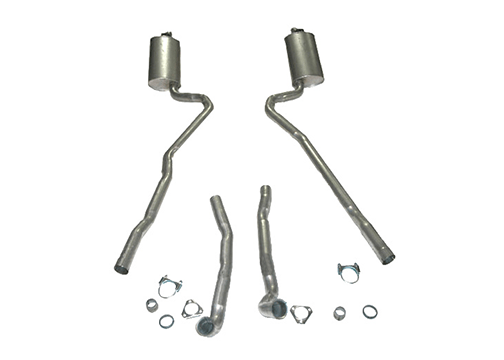Corvette Exhaust System Stainless Steel 2.5 Inch Big Block