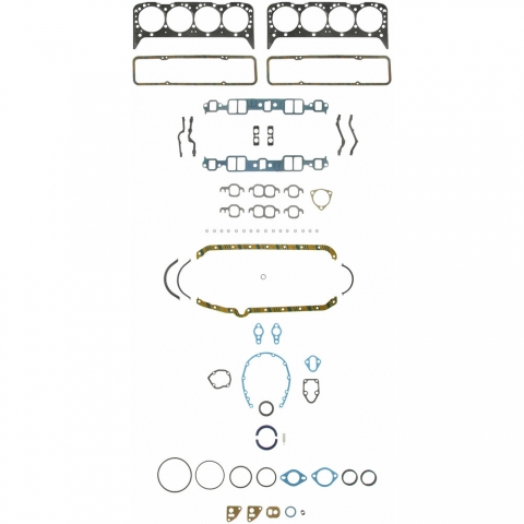 Corvette Gasket Set Engine Full Small Block 57 76 ( #