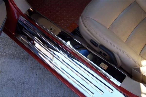 Corvette Sill Plate Door Inner Polished Pair 05 13