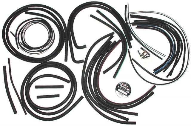 Corvette Hose Kit Headlamp And Wiper Door Vacuum 71 72 ( #