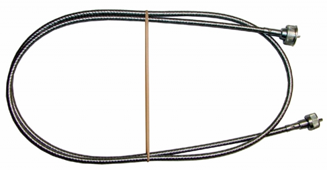 Corvette Cable Assembly Speedometer Steel Case 68 Length
