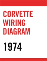 1974 Corvette Wiring Diagram PDF File Download Only