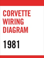 1981 Corvette Wiring Diagram PDF File Download Only
