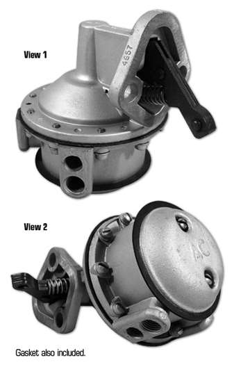 Ac Pump Wiring 37218 63 65 Fuel Pump Rebuilt Ac 4657 1963 All