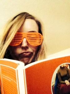 Erica Crockett in line glasses