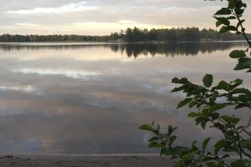 Gurd Lake at Grundy Provincial Park