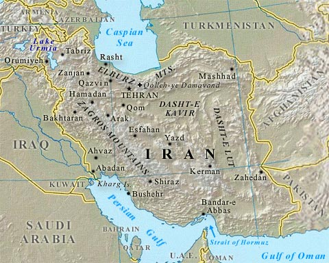 IRAN Geography of Iran