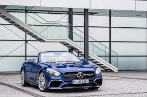 Mercedes-AMG SL 65, Brilliantblau