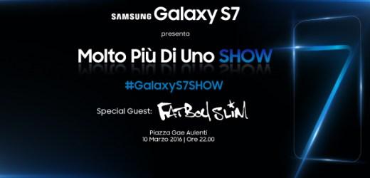 Galaxy S7 SHOW – Il primo Laser Show che illumina Milano