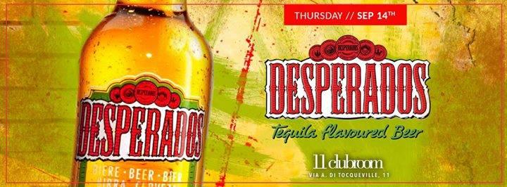 CFM / Desperados Beer Party For VFNO 2017 / Ingresso Omaggio
