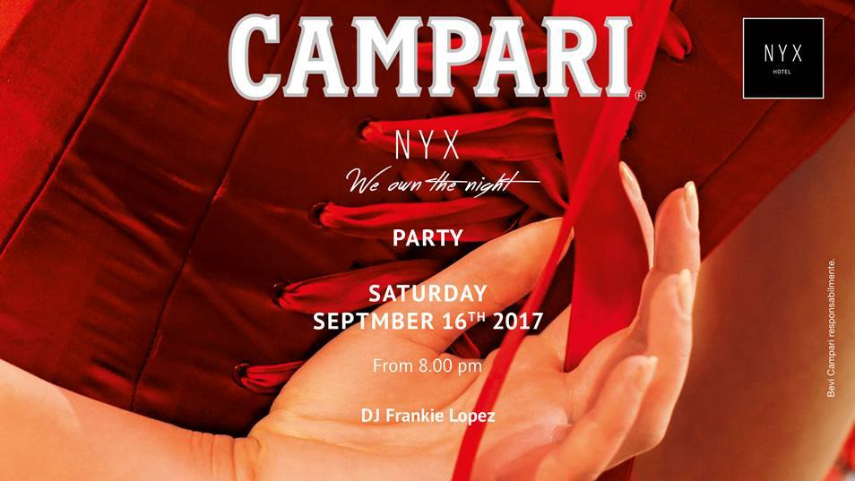 CFM / Garden Party by Campari in NYX Milan Hotel