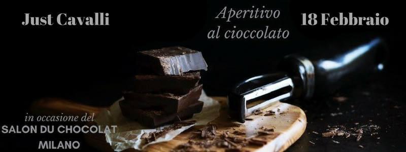 Aperitivo al cioccolato – Just Cavalli Milano