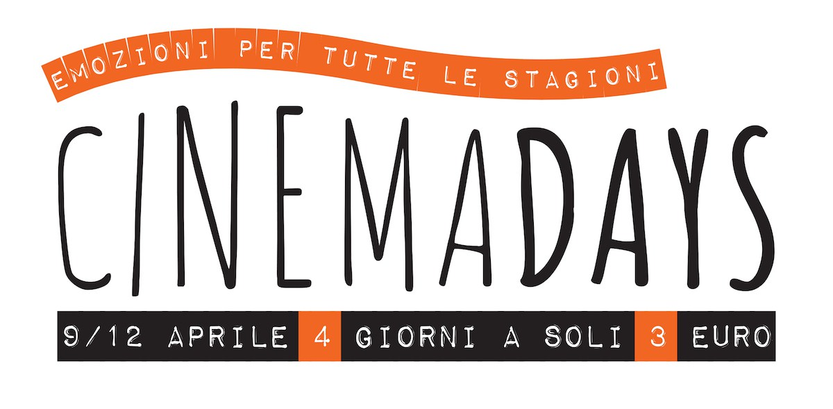 Cinemadays 2018 | Biglietti a 3 euro