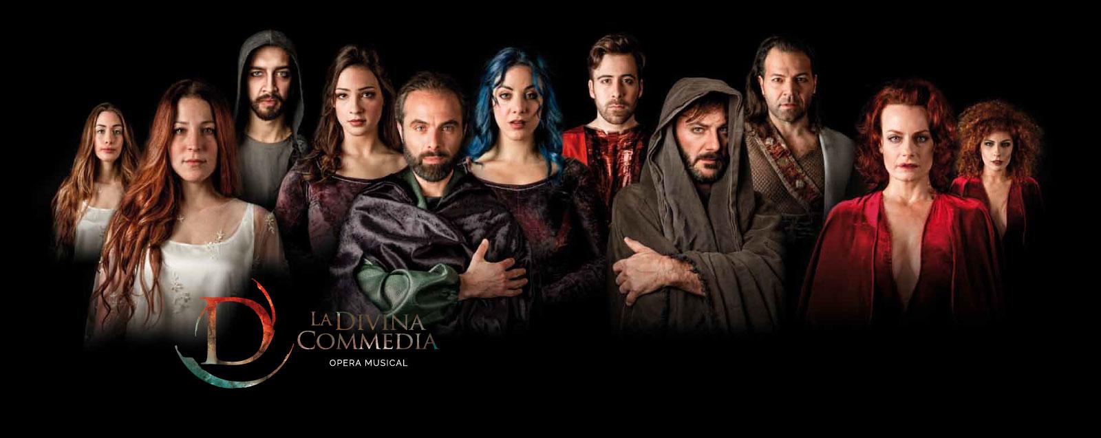 LA DIVINA COMMEDIA Opera Musical MILANO