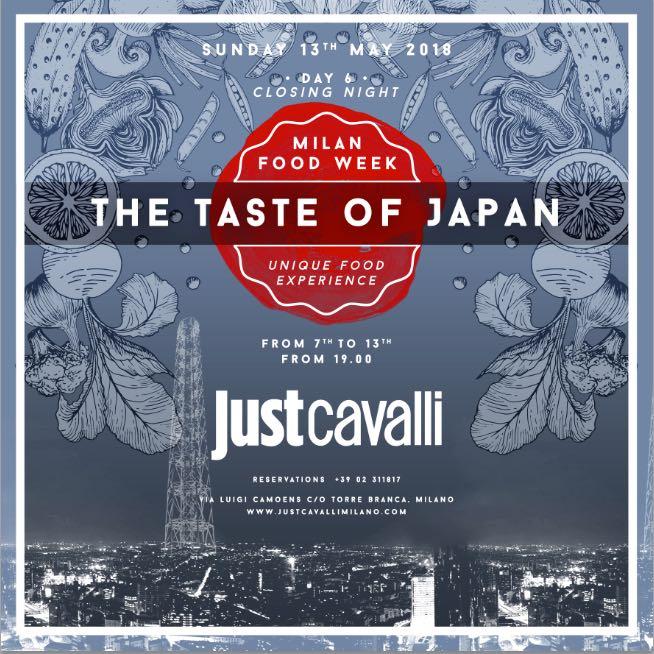 Degustazione Prodotti Japan TuttoFood Closing Party