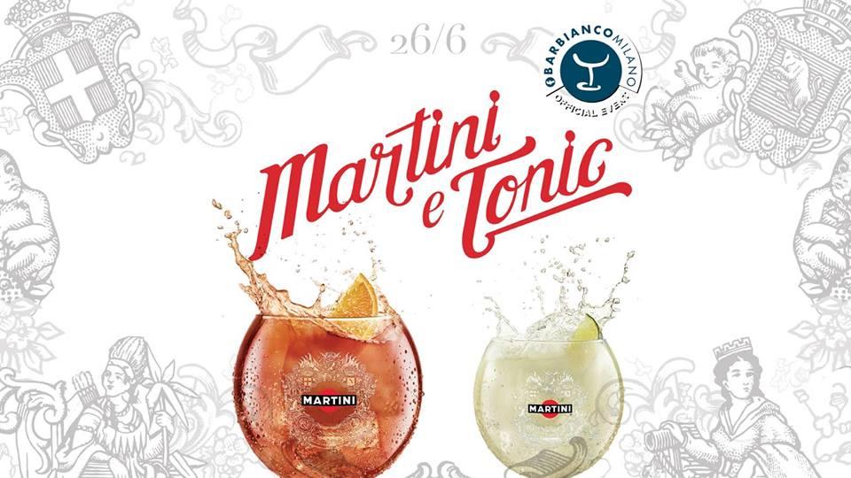 Sponsor Martini & Tonic – Bar Bianco
