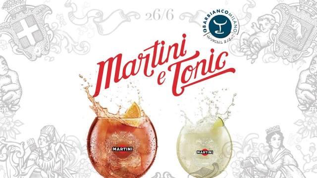 Sponsor Martini & Tonic - Bar Bianco