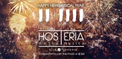 Capodanno 2019 Hosteria Della Musica Milano