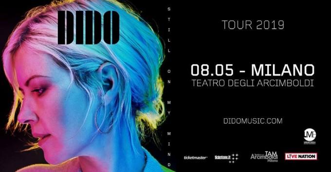 Dido – Milano – Tour 2019