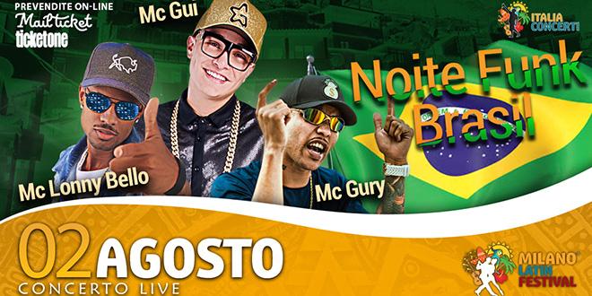 Noite Funk Brasil – Milan Latin Festival –  2 Agosto 2019 – Info e Biglietti