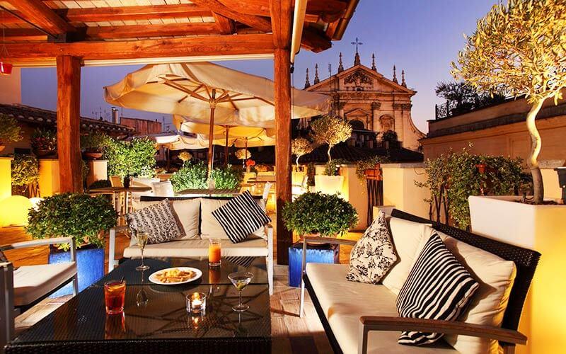 Ecco i 10 Roof Garden pi Romantici di Roma del 2019