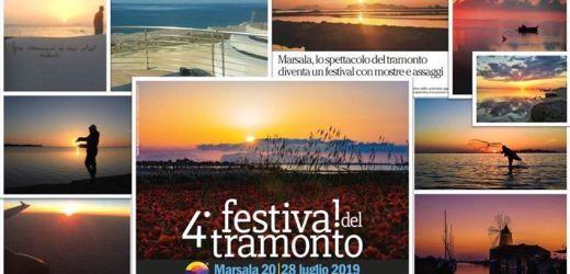 Il festival del tramonto di Marsala – il fuoco della natura