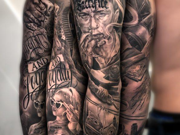 Carlos Fabra Cosafina Tattoo
