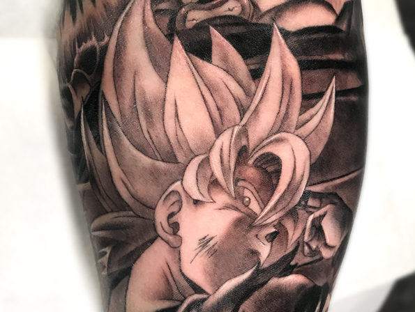 Tattoo Dragon Ball Goku E Vegeta