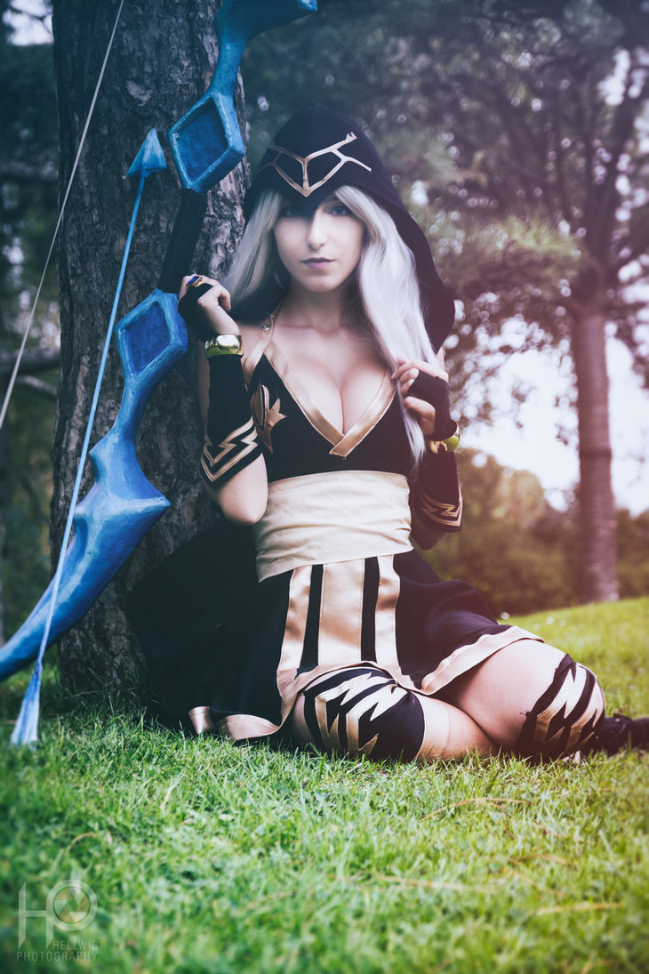 League Of Legends Ashe Sexy Cosplay CosAlbum