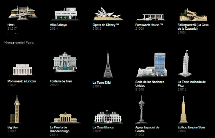 Exposicin Lego Architecture sobre edificios de Madrid