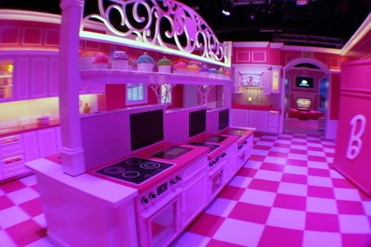 La casa de Barbie en tamao real