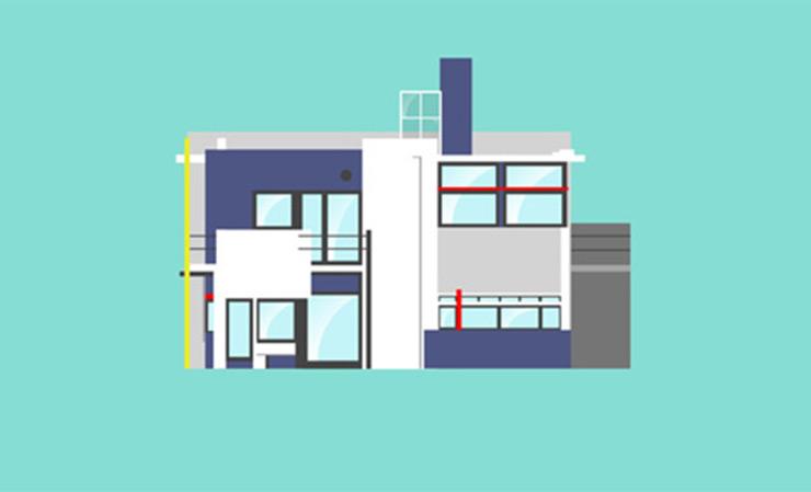 Animacin de las viviendas icnicas del Siglo XX