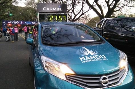 Nissan Note es el auto de las maratones de Buenos Aires