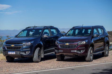 Nueva Chevrolet S10 y Nueva Trailblazer